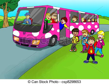 Photography clipart excursion Children of of Cartoon