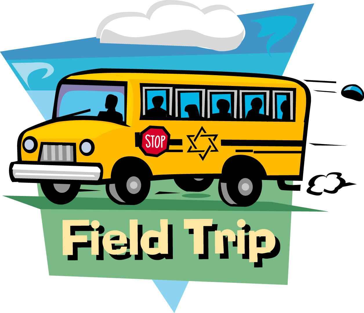 Bus clipart school excursion A excursion about friend write