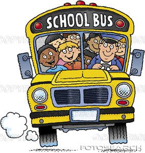 Bus clipart school outing ALLERGIES boys a school field