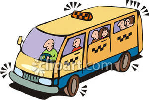Taxi clipart van Bus Picture Royalty Free Picture