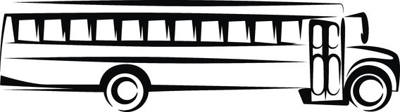 Bus clipart silhouette School silhouette Clipart Illustrations collection