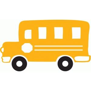 Bus clipart silhouette Bus school Clip #66320: Design