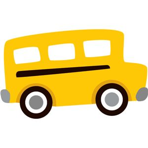Bus clipart silhouette Bus school bus #3761: Design