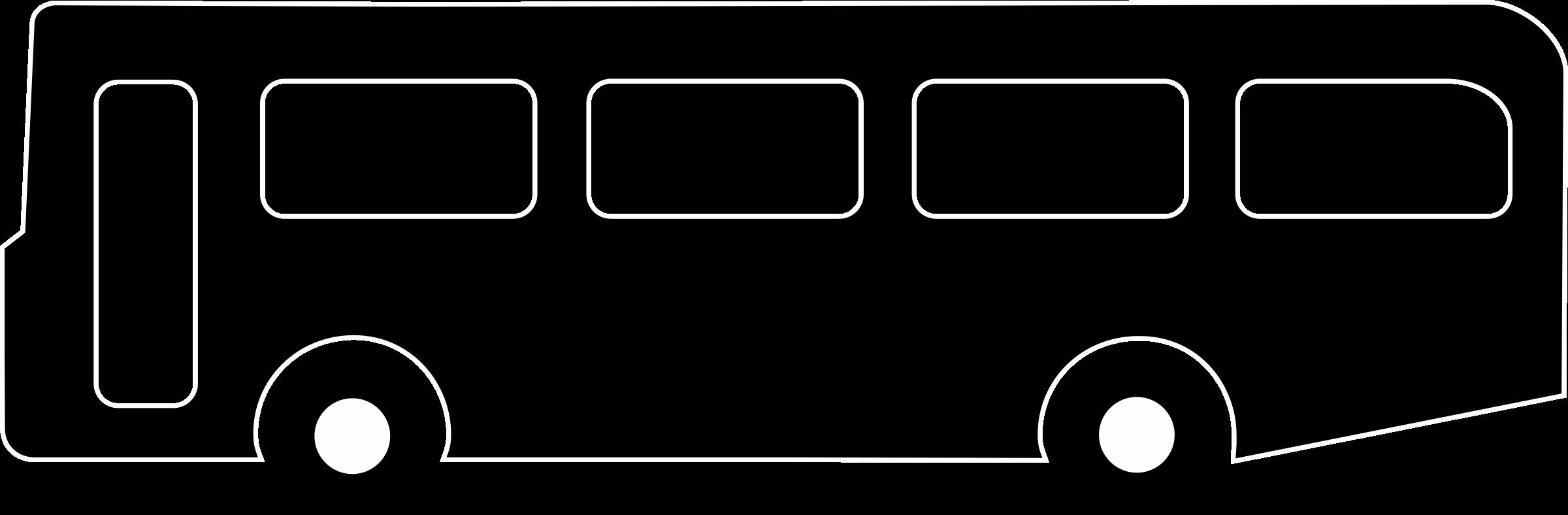 Bus clipart silhouette Black symbol Bus Bus black