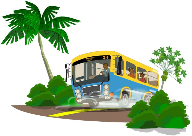 Vacation clipart bus About on Pinterest Bus images