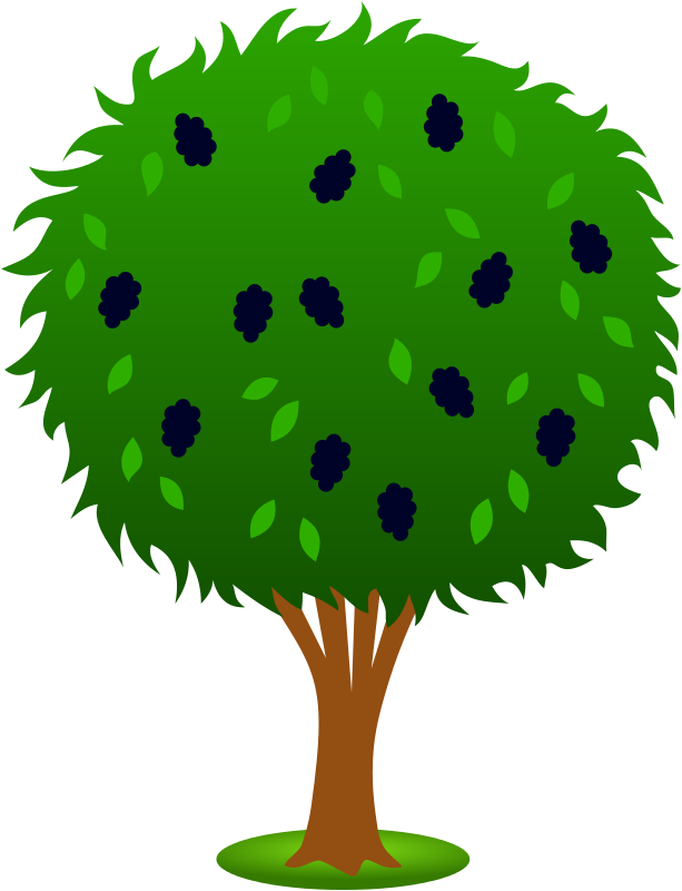 Berry clipart animated Clipart Cliparts Outline Bushes