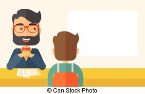 Business clipart applicant Applicant  Collection Office; Job