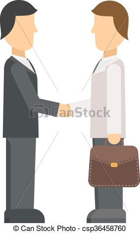 Business clipart applicant Clip office job panel Vector