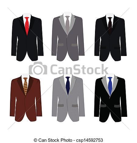 Suit clipart business suit  suit illustration 6 Vector