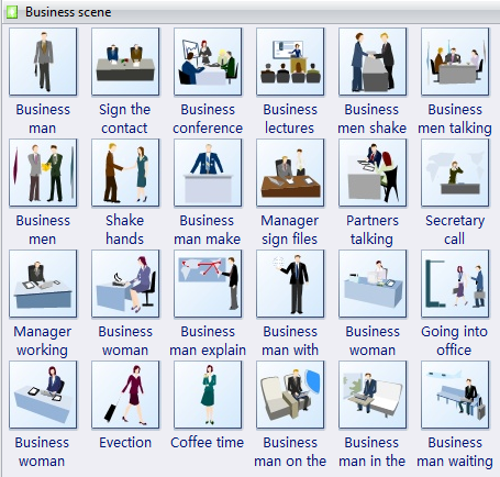 Business clipart business management Vector Free  Clip Download