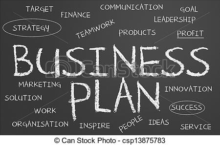 Business clipart business plan Illustration of plan Business Business
