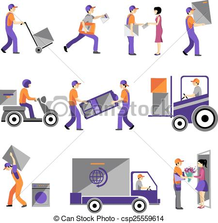 Business clipart business service Csp25559614 Vector business service service