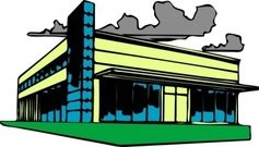 Business clipart commercial building Clipart Collection clipart property: Building
