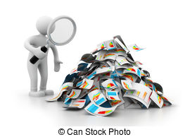 Business clipart data result Analyze man Analyze 996 analyzing