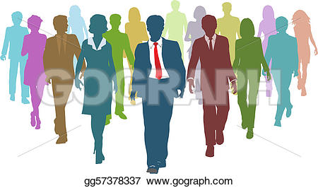 Business clipart group leader #8