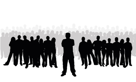 Crowd clipart leadership Panda Cooperative business Clipart Clipart