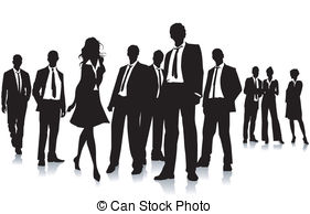 Business clipart group person Business Clipart group clipart Silhouette