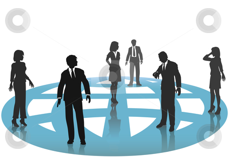 Business clipart group person #9