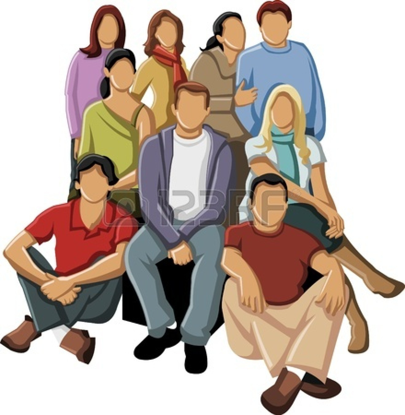 Business clipart group person #4