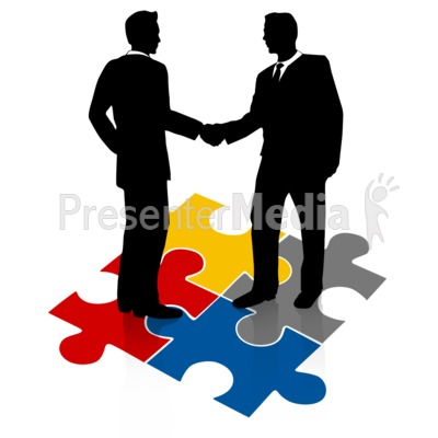 Business clipart hand shaking Puzzle Hands shaking collection Shake
