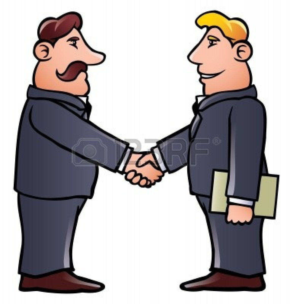 Business clipart hand shaking Men Business men collection :