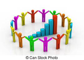 Business clipart huddle  success Stock and Huddle