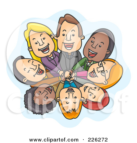 Business clipart huddle #7