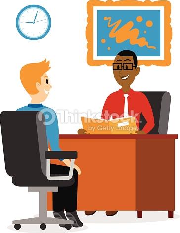 Business clipart job interview Business Interview Art – Art