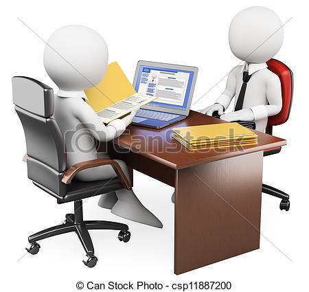 Business clipart job interview Job interview Interview Stock white