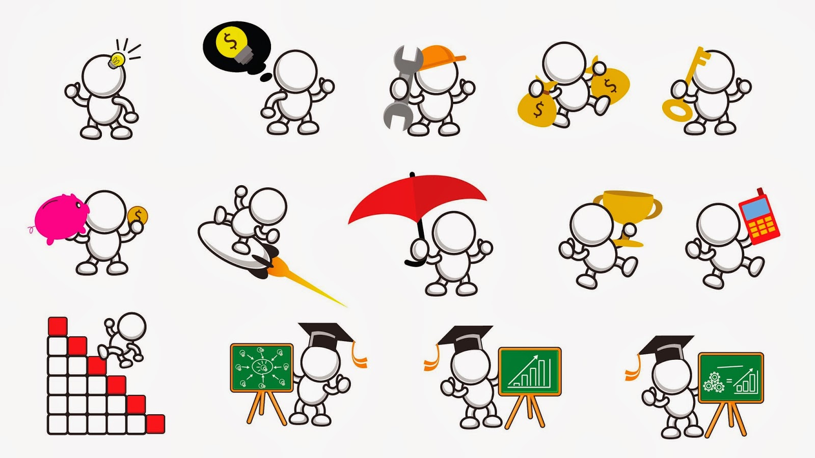 Business clipart marketing And Art Presentation Marketing (Version121313)