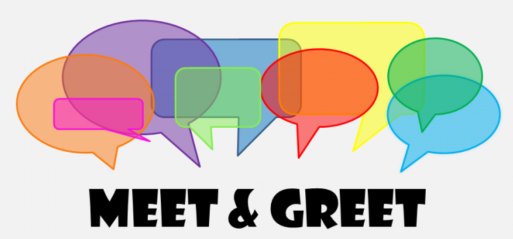 Business clipart meet and greet #4