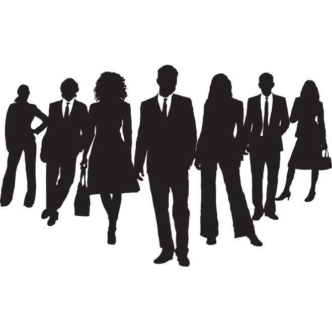 Shaow clipart business person Free Business meeting csp6063842 Collection