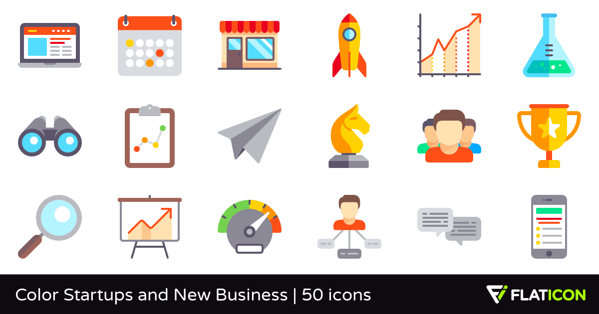 Business clipart new business Color  premium Business and
