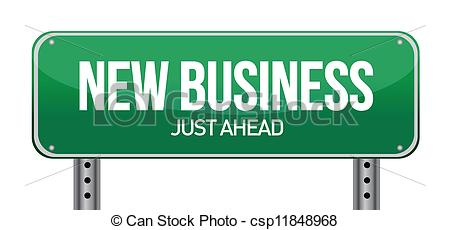 Business clipart new business 5 over EPS 546 illustration