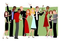 Holydays clipart staff party Family Panda Free Info Clipart