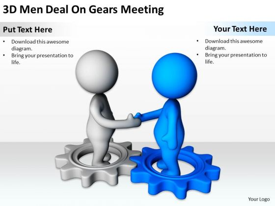 3D clipart business Meeting PowerPoint art templates PowerPoint