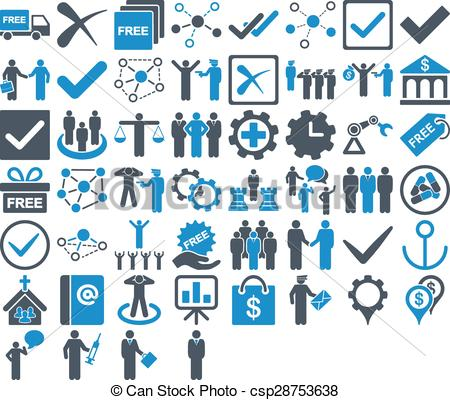 Business clipart royalty free Of use These icons Vectors
