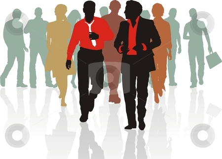 Business clipart sales team Stock people people Sales of
