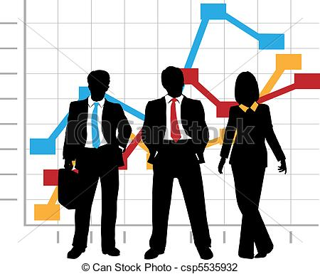 Business clipart sales team Of Illustration Company Growth Business