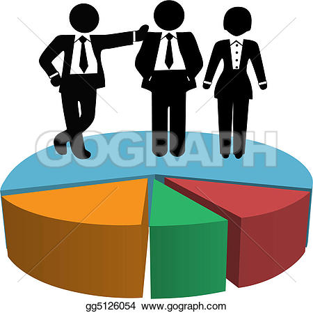 Business clipart sales team Growth Chart Free Team