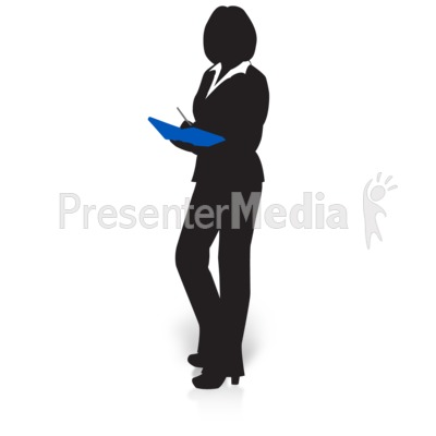 Woman clipart presenter Book Files Clipart Presentation 15027