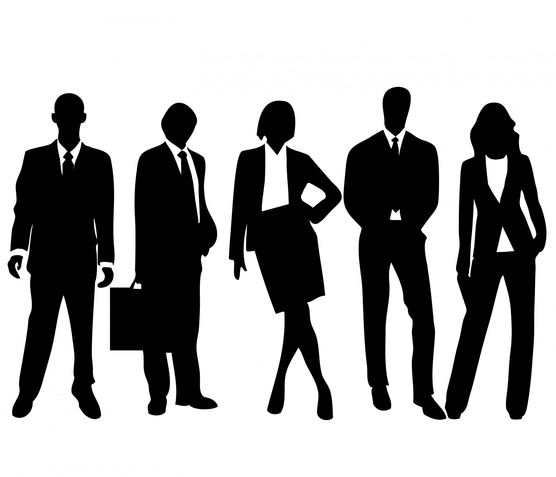 Shaow clipart business person Silhouette business%20person%20silhouette Business People Images