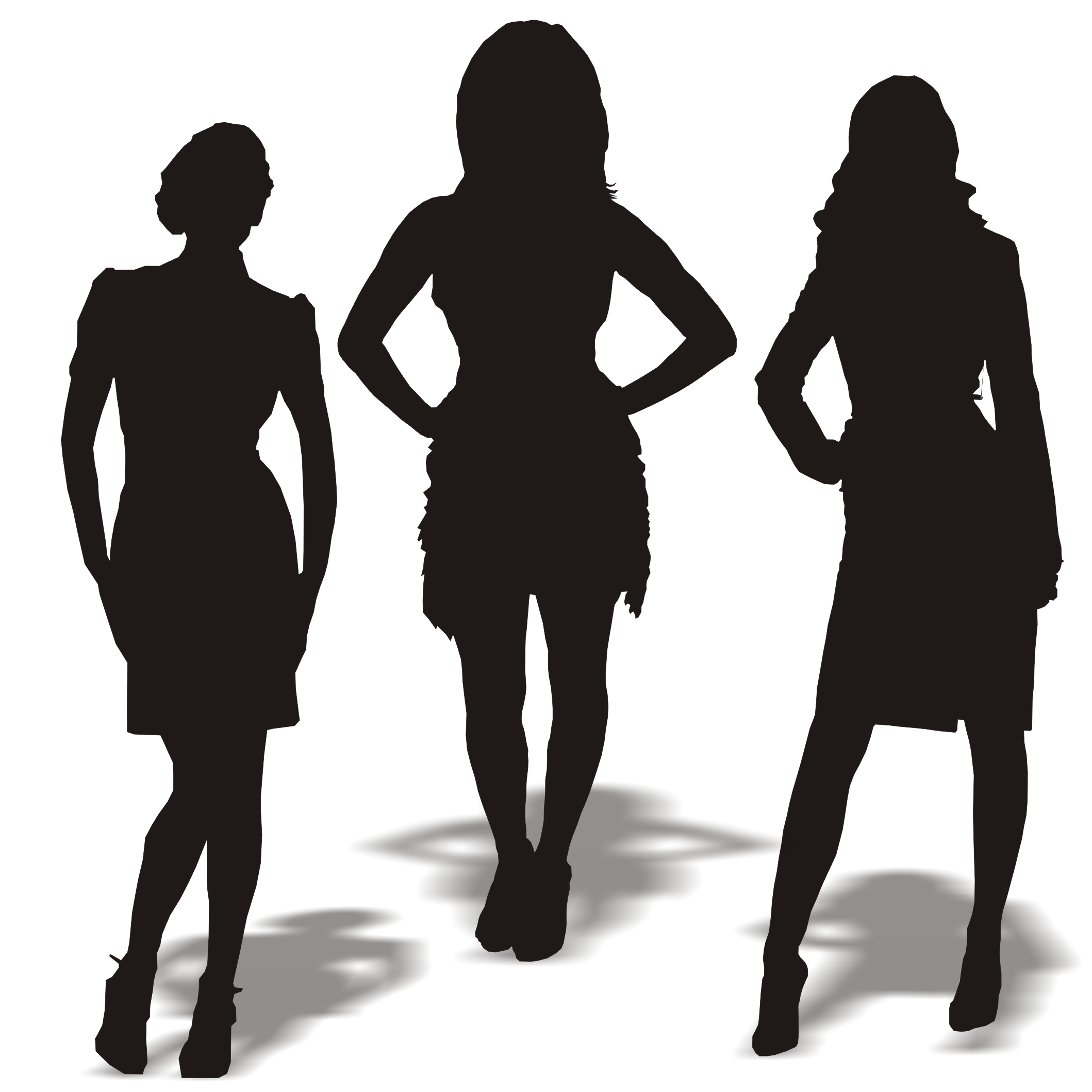 Shaow clipart business person Woman on  Business Woman