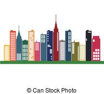 Business clipart skyline Skyline City skyline EPS Images