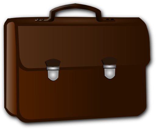 Business clipart suitcase Briefcase clipart Zone Cliparts Business