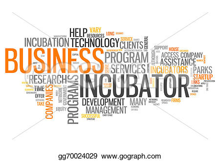 Business clipart word Tags Word incubator Word cloud