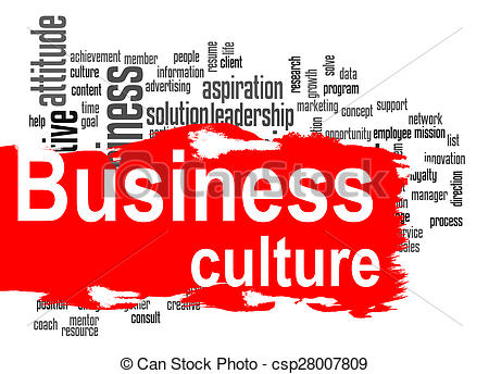 Word clipart business  Code word banner red
