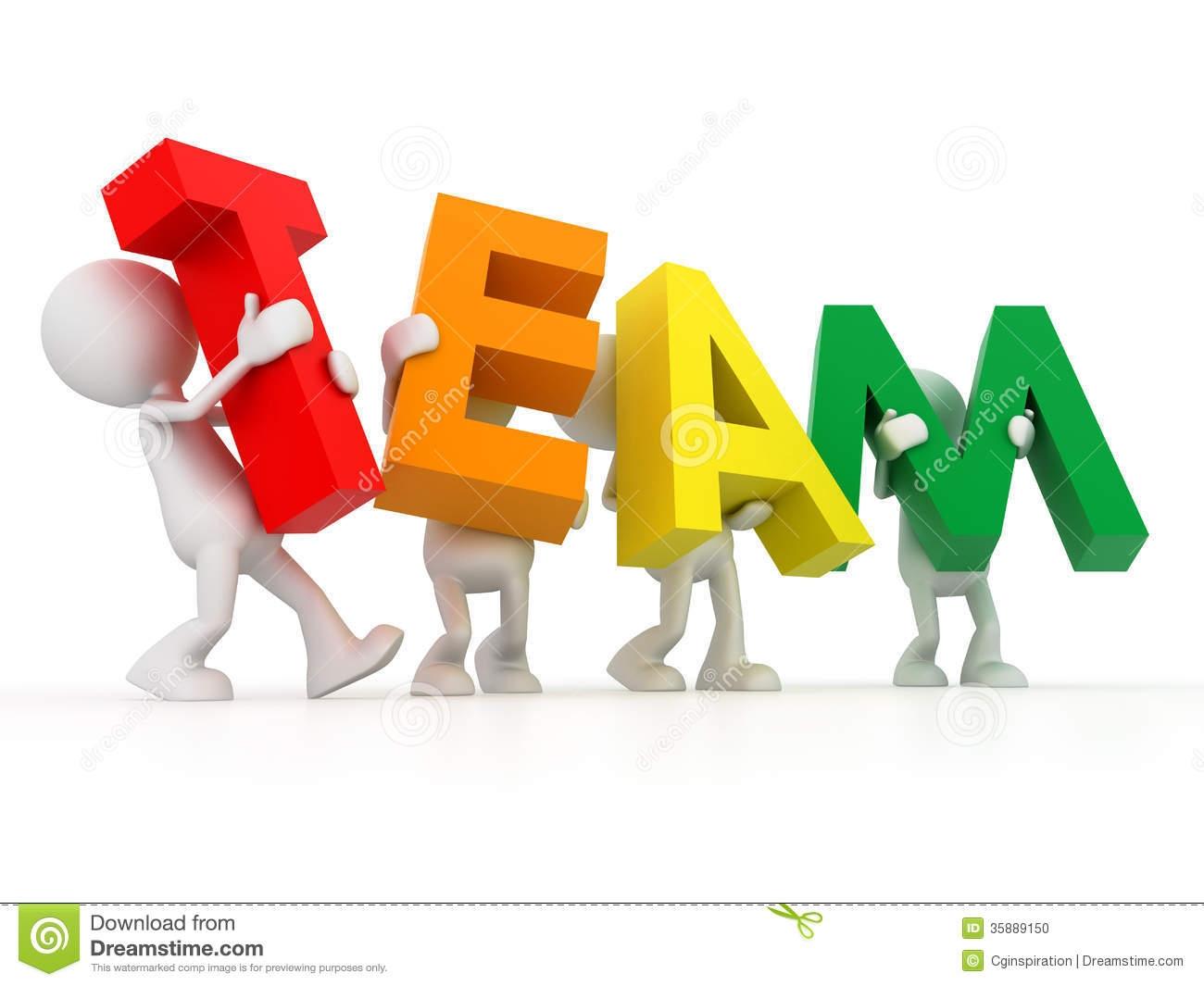 Business clipart word Art Team Team Art Clip