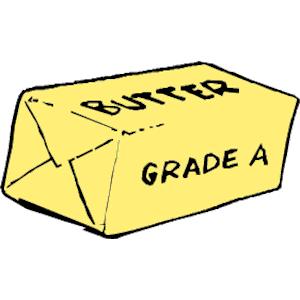 Butter clipart cheese slice Art & Clipart butter butter