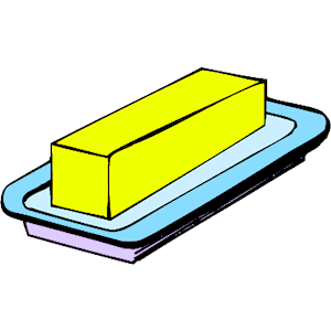 Butter clipart cheese slice Butter #3542 of art Clipart